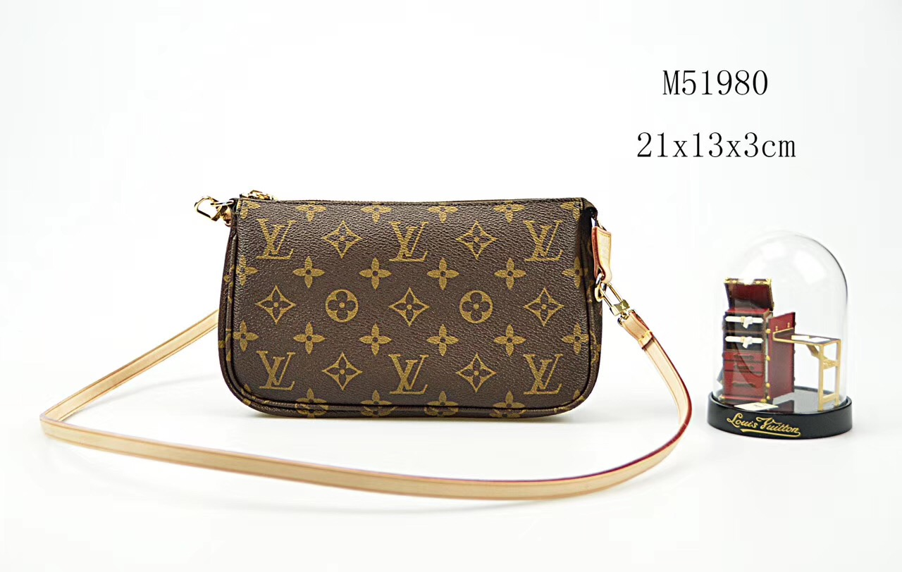 14d0de3a21c0 LV Louis Vuitton M51980 shoulder Monogram small bags Handbags ...
