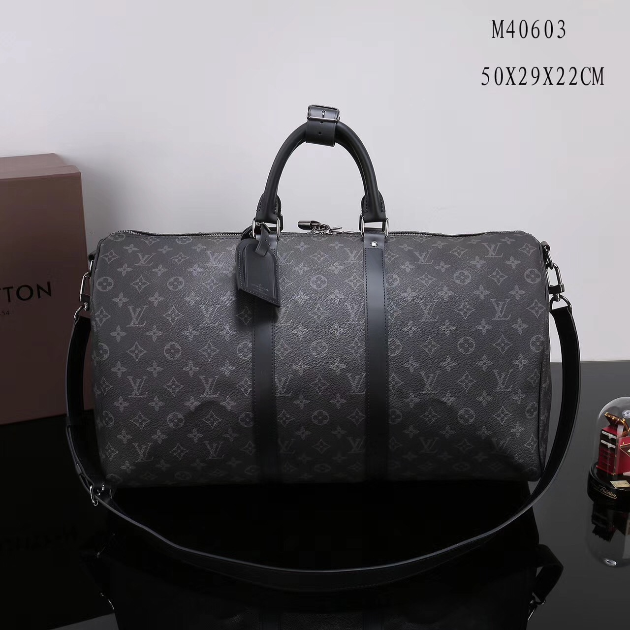 Men Lv Louis Vuitton M40603 Keepall 50