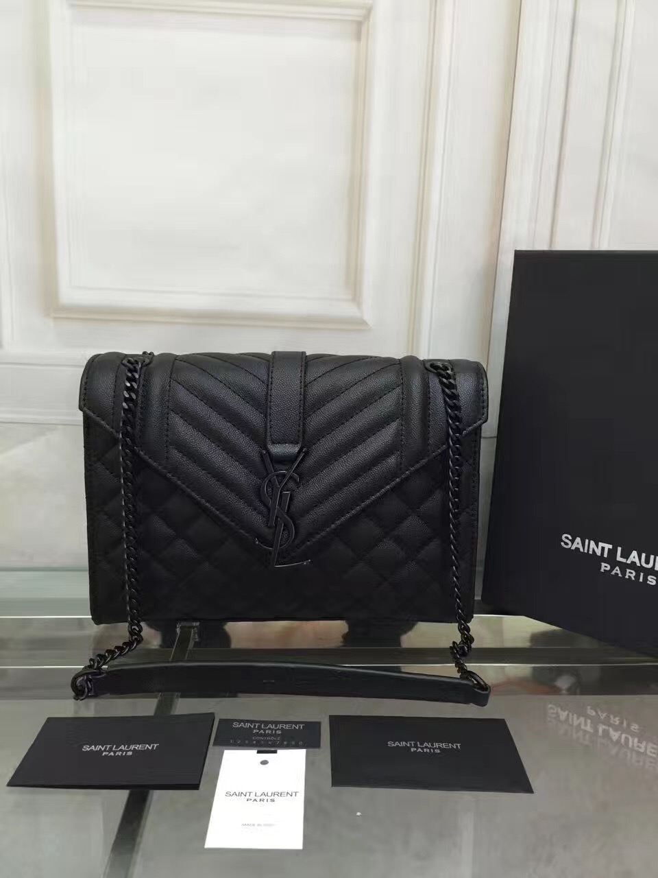 b509406306a4 YSL small college black shoulder handbags  YSL94  -  247.00   Luxury ...